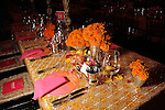 "One of the tables at the Museum of Fine Arts Houston's 2013 Grand Gala ""India"" Friday Oct. 04,2013.(Dave Rossman photo)"