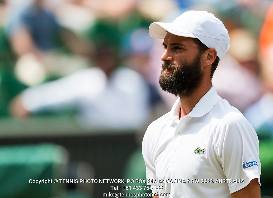 BENOIT PAIRE (FRA)<br /> <br /> TENNIS - THE CHAMPIONSHIPS - WIMBLEDON- ALL ENGLAND LAWN TENNIS AND CROQUET CLUB - ATP - WTA -ITF - WIMBLEDON-SW19, LONDON, GREAT  BRITAIN- 2017  <br /> <br /> <br /> &copy; TENNIS PHOTO NETWORK
