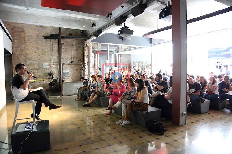Angel Sala. Presentation Sitges film Festival 2012.