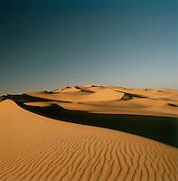 Sand dunes, Sahara Desert, Libya