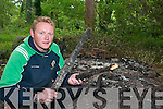 A WOODEN HUT was burned to the ground near Torc.Waterfall at the weekend in the latest in a series of.late-night acts of vandalism causing concern to management.of Killarney National Park