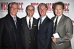 Robert Lupone, Will Cantler, Blake West & Bernie Telsey.attending the 'MISCAST 2012' MCC Theatre's Annual Musical Spectacular at The Hammerstein Ballroom in New York City on 3/26/2012. © Walter McBride / WM Photography