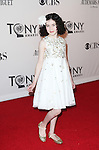 Lilla Crawford pictured at the 66th Annual Tony Awards held at The Beacon Theatre in New York City , New York on June 10, 2012. © Walter McBride / WM Photography
