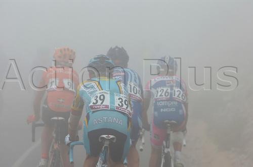 6th September 2009. Vuelta a Espana, stage 08. Alzira - Alto de Aitana, Astana, Vinokourov Alexander, Alto de Aitana. Photo: Stefano Sirotti/ActionPlus.