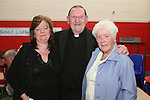 Fr. Martin Kenny with Eileen McCullough and Vera Ferris at his retirement party in Mell NS...Photo NEWSFILE/Jenny Matthews.(Photo credit should read Jenny Matthews/NEWSFILE)....This Picture has been sent you under the condtions enclosed by:.Newsfile Ltd..The Studio,.Millmount Abbey,.Drogheda,.Co Meath..Ireland..Tel: +353(0)41-9871240.Fax: +353(0)41-9871260.GSM: +353(0)86-2500958.email: pictures@newsfile.ie.www.newsfile.ie.FTP: 193.120.102.198.