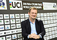 Picture by Simon Wilkinson/SWpix.com 25/03/2018 - Cycling 2018 UCI  Para-Cycling Track Cycling World Championships. Rio de Janeiro, Brazil - Barra Olympic Park Velodrome - Day 4 - Andrew Parsons World Paralympic