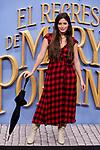Paula Moya attends to Mary Poppins Returns film premiere at Kinepolis in Pozuelo de Alarcon, Spain. December 11, 2018. (ALTERPHOTOS/A. Perez Meca)