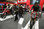 Mar 26, 2010 - Tokyo, Japan - Ducati models are on display during the 37th Tokyo Motorcycle Show at Tokyo Big Sight on March 26, 2010. The event is the Japan's largest motorcycle exhibition and it will be held until March 28 this year. (Photo Laurent Benchana/Nippon News)