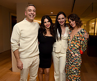 "BEVERLY HILLS - DECEMBER 4: Series Creator/Executive Producer Joshua Safran and cast members Jenna Dewan, Madeleine Stowe, and Callie Hernandez attend a special screening of the new Netflix musical series ""Soundtrack"" at UTA on December 4, 2019 in Beverly Hills, California. Soundtrack premieres on Netflix on December 18. (Photo by Frank Micelotta/20th Century Fox Television/PictureGroup)"