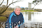 James O'Connor who is starting Wild flower walks from Ross Castle around the National Park in Killarney
