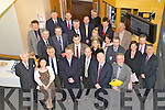 Members of the bord of Global Pharmaceutical Centre of Excellence (GPCE) in Tralee with representives of Three international pharmaceutical organisations at Shannon Development on Thursday.
