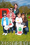 Listowel Egg Hunt : Pictured a the Easter egg hunt in Listowel town park on Saturday last sponsored by Spar Stores, Listowel were Joe & Ryan Rooney, Susan Nolan, Clara Roche & Caitrine Brosnan.