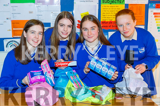 Sarah McGrath, Clodagh Carroll, Ellen Farndon and Bailey Carlton who have made Digity bags