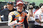 Mugello. italia. motociclismo. <br /> Gran Premio d'Italia TIM during the world championship of motorcycle<br /> Circuito de mugello<br /> a 31/05/2014 <br /> En la foto :  <br /> Qualifying MotoGP<br />marc marquez<br />PHOTOCALL3000/RM