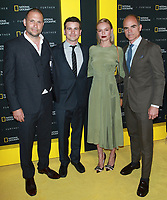 NEW YORK, NY - APRIL 19: Jeremy Sisto, Jason Ritter, Kate Bosworth and Michael Kelly at National Geographic's Further Front at Jazz at Lincoln Center on April 19, 2017 in New York City. <br /> CAP/MPI/DC<br /> &copy;DC/MPI/Capital Pictures