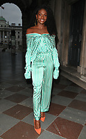 Dina Asher-Smith at the ELLE List inaugural annual event to celebrate the next generation of global trailblazers inspiring the ELLE woman in 2018, Somerset House, Lancaster Place, The Strand, London, England, UK, on Monday 04 June 2018.<br /> CAP/CAN<br /> &copy;CAN/Capital Pictures