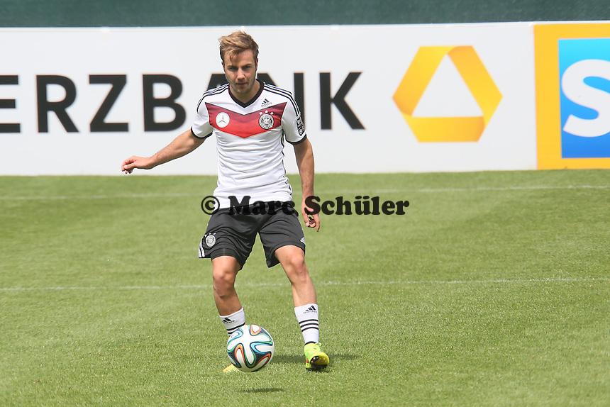 Mario Götze - Abschlusstraining der Deutschen Nationalmannschaft gegen die U20 im Rahmen der WM-Vorbereitung in St. Martin