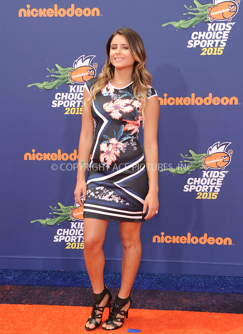 WWW.ACEPIXS.COM<br /> <br /> July 16 2015, LA<br /> <br /> Anastasia Ashley arriving at the Nickelodeon Kids' Choice Sports Awards 2015 at UCLA's Pauley Pavilion on July 16, 2015 in Westwood, California.<br /> <br /> By Line: Peter West/ACE Pictures<br /> <br /> <br /> ACE Pictures, Inc.<br /> tel: 646 769 0430<br /> Email: info@acepixs.com<br /> www.acepixs.com