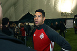08 December 2016: Toronto's Justin Morrow. Toronto FC held a training session at the Kia Training Ground in Toronto, Ontario in Canada two days before playing in MLS Cup 2016.