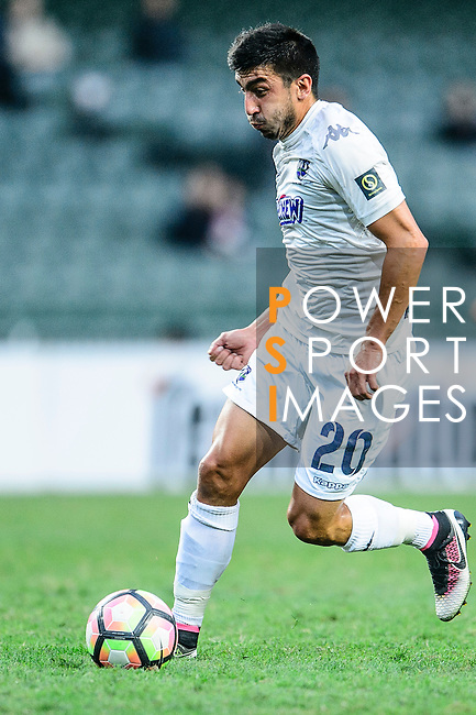 Auckland City Forward Emiliano Tade during the Nike Lunar New Year Cup 2017 match between SC Kitchee (HKG) and Auckland City FC (NZL) on January 31, 2017 in Hong Kong, Hong Kong. Photo by Marcio Rodrigo Machado / Power Sport Images