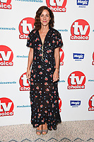 LONDON, UK. September 10, 2018: Julia Bradbury at the TV Choice Awards 2018 at the Dorchester Hotel, London.<br /> Picture: Steve Vas/Featureflash