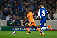 Liverpool's Sadio Mane in action <br /> <br /> Photographer Craig Mercer/CameraSport<br /> <br /> UEFA Champions League Round of 16 First Leg - FC Porto v Liverpool - Wednesday 14th February 201 - Estadio do Dragao - Porto<br />  <br /> World Copyright &copy; 2018 CameraSport. All rights reserved. 43 Linden Ave. Countesthorpe. Leicester. England. LE8 5PG - Tel: +44 (0) 116 277 4147 - admin@camerasport.com - www.camerasport.com