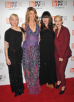 NEW YORK, NY - OCTOBER 03: Michelle Williams, Laura Dern, Lilly Gladstone, Kristen Stewart attend the 'Certain Women' premiere during the 54th New York Film Festival at Alice Tully Hall, Lincoln Center on October 3, 2016 in New York City. Credit: John Palmer / MediaPunch
