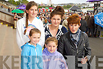 Pictured at Listowel Races on Sunday, from left: Katie Kearney, Gemma Guerin, Nora Kearney, Sarah Kearney and Mary Kearney, all from Ballyheigue..