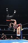 The Great Sasuke vs Naoki Sano during the Jyushin Thunder Liger Retirement Match 1 New Japan Pro-Wrestling Wrestle Kingdom 14 at Tokyo Dome on January 4, 2020 in Tokyo, Japan. (Photo by New Japan Pro-Wrestling/AFLO)