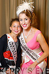 Abu Dhabi Rose Patrice McGillycuddy with her rosebud Aimee Harnett Riddle at the Fels Point hotel on Friday.