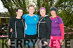Peggy Kelly, Nuala O'Connor, Mary Brown and Bernie Cashman at the BWildered Challenge in Ballymacelligott on Saturday