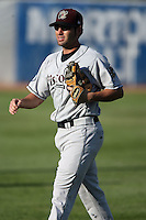 August 17 2008:  Second baseman Alex Meneses of the Wisconsin Timber Rattlers, Class-A affiliate of the Seattle Mariners, during a game at Philip B. Elfstrom Stadium in Geneva, IL.  Photo by:  Mike Janes/Four Seam Images
