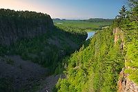 Ouimet Canyon looking towards Lake Superior<br />