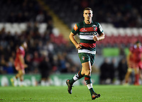 George Ford of Leicester Tigers. Heineken Champions Cup match, between Leicester Tigers and the Scarlets on October 19, 2018 at Welford Road in Leicester, England. Photo by: Patrick Khachfe / JMP