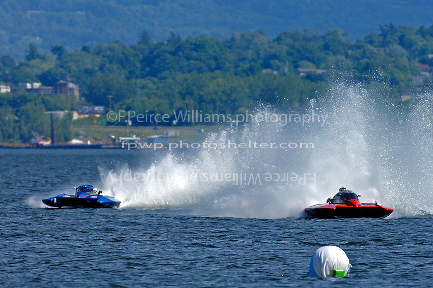 Marc Lecompte, CE-104 and Norman Emsbury, CE-99 (5 Litre class hydroplane(s)