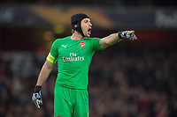 Arsenal's Petr Cech during the UEFA Europa League match between Arsenal and Sporting Clube de Portugal at the Emirates Stadium, London, England on 8 November 2018. Photo by Andrew Aleksiejczuk / PRiME Media Images.