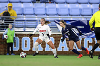 CHAPEL HILL, NC - NOVEMBER 16: Kameron Ziesig #5 of Belmont University plays the ball during a game between Belmont and North Carolina at UNC Soccer and Lacrosse Stadium on November 16, 2019 in Chapel Hill, North Carolina.