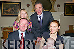 Baby Mai Francis Digby and her parents Colm & Una Digby, Listowel & Barcelona  & godparents Geraldine McEnerney & Paul O'Hagan who was christenrd at St. Mary's Church, Listowel on Saturday by Canon O'Connor and afterwards at the Listowel Arms Hotel.