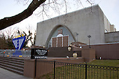 Ohev Sholom - The National Synagogue (previously Ohev Sholom Talmud Torah) at 1600 Jonquil Street, NW Washington, DC 20012 on Thursday, December 15, 2016.   The synagogue can trace its roots back to the 19th century when Moses Reuben Yoelson, the father of the late entertainer Al Jolson once served as its cantor.<br /> Credit: Ron Sachs / CNP<br /> (RESTRICTION: NO New York or New Jersey Newspapers or newspapers within a 75 mile radius of New York City)