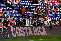 Harrison, NJ - Friday Sept. 01, 2017: Fans prior to a 2017 FIFA World Cup Qualifier between the United States (USA) and Costa Rica (CRC) at Red Bull Arena.