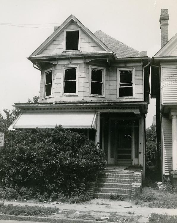 1966  July  11..Ghent      ..228 16 1/2 Street..Chiles Larson.NEG# CTAL66-3..