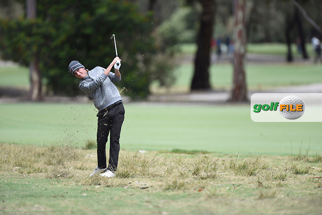 Renato Paratore (ITA) during the 3rd round of the World Cup of Golf, The Metropolitan Golf Club, The Metropolitan Golf Club, Victoria, Australia. 24/11/2018<br /> Picture: Golffile | Anthony Powter<br /> <br /> <br /> All photo usage must carry mandatory copyright credit (© Golffile | Anthony Powter)