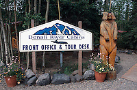 USA, Alaska, Hotel River Cabins im  Denali Nationalpark