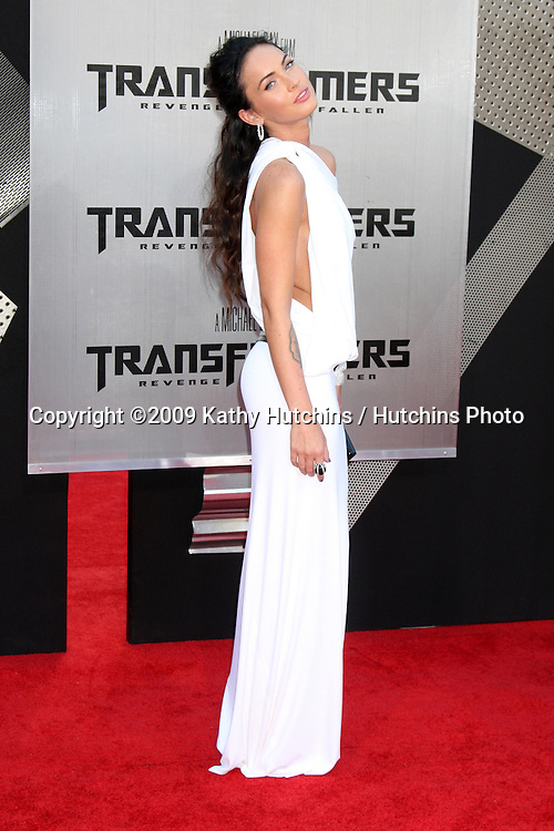 "Megan Fox arriving at the ""Transformers: Revenge of the Fallen"" Premiere at the Mann's Village Theater in Westwood, CA  on June 22, 2009.  .©2009 Kathy Hutchins / Hutchins Photo"