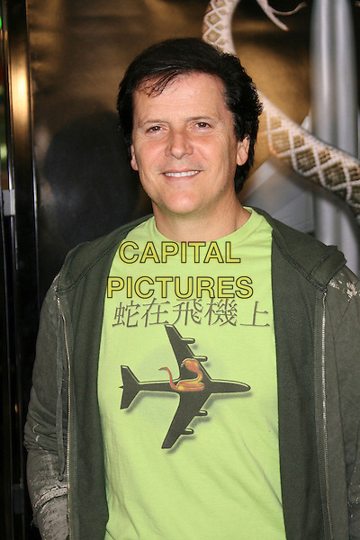 "TREVOR RABIN.New Line Cinema's Premiere of ""Snakes On A Plane"" - Arrivals held at Grauman's Chinese Theatre, Hollywood, California, USA..August 17th, 2006.Ref: ADM/ZL.half length green top jacket print.www.capitalpictures.com.sales@capitalpictures.com.©Zach Lipp/AdMedia/Capital Pictures."