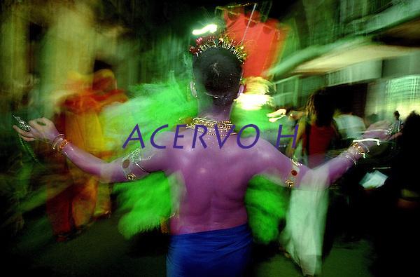 Artistas paraenses durante homenagem a  Nossa Senhora de Nazar&eacute; as v&eacute;speras do c&iacute;rio.<br /> Bel&eacute;m, Par&aacute;, Brasil.<br /> Foto Paulo Santos<br /> 2007