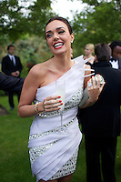 Tamara Ecclestone at Elton John's White Tie and Tiara Ball