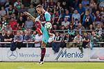 29.07.2017, Heinz-Dettmer-Stadion, Lohne, GER, FSP, SV Werder Bremen vs West Ham United<br /> <br /> im Bild<br /> Marko Arnautovic (West Ham #18) am Ball, <br /> <br /> Foto &copy; nordphoto / Ewert