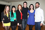 Elle McLemore, Alice Lee, Jessica Keenan Wynn, Ryan McCartan, Barrett Wilbert Weed and Anthony Crivello attend the Meet & Greet the stars and creative team of 'Heathers The Musical' on February 19, 2014 at The Snapple Theatre Center in New York City.  attend the Meet & Greet the stars and creative team of 'Heathers The Musical' on February 19, 2014 at The Snapple Theatre Center in New York City.