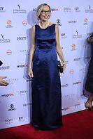 NEW YORK, NY 21.11.2016 - EMMY-2016 -  Maria Robye Ronn durante tapete vermelho do Emmy Internacional 2016 prêmio dos melhores atores e novelas da TV, em Nova York, nos Estados Unidos na noite desta segunda-feira, 21. (Foto: Vanessa Carvalho/Brazil Photo Press)